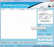 Broadcast Batch Printing screenshot